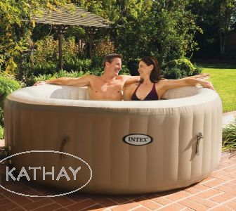 JACUZZI DMUCHANE SPA 4 OSOBY 120 DYSZ INTEX 28404